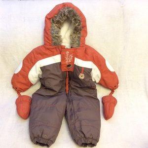 Baby bell little explorer 18M infant snowsuit